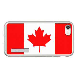 Flag of Canada Silver iPhone Case