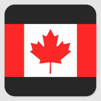 Flag Of Canada Square Stickers