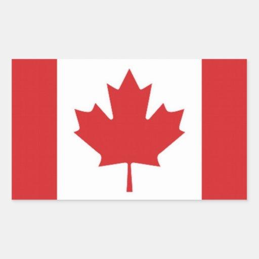 Flag of Canada Rectangular Sticker