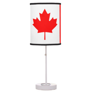 Flag of Canada Table Lamp