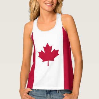 Flag of Canada Tank Top