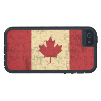 Flag of Canada Vintage Distressed iPhone 5 Case