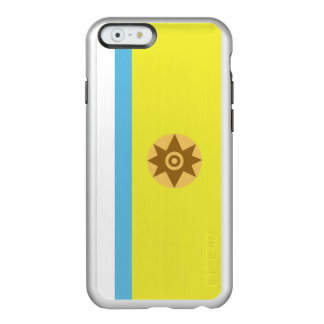 Flag of Canarian Nationalism Silver iPhone Case Incipio Feather® Shine iPhone 6 Case
