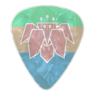 Flag of Cantonia Guitar Picks
