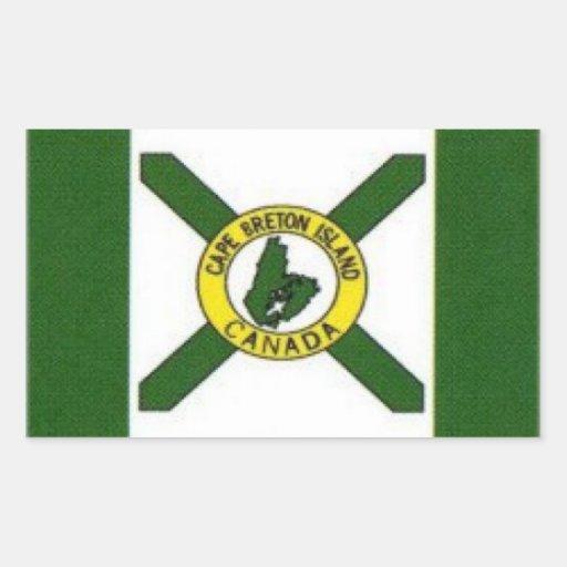 Flag of Cape Breton, Canada Rectangular Sticker