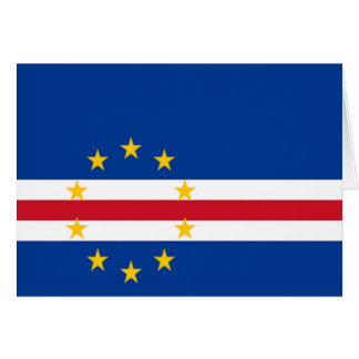 Flag of Cape Verde Greeting Card