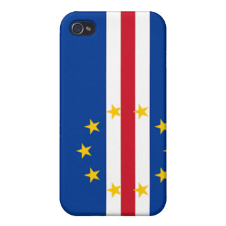 Flag of Cape Verde iPhone 4 Covers