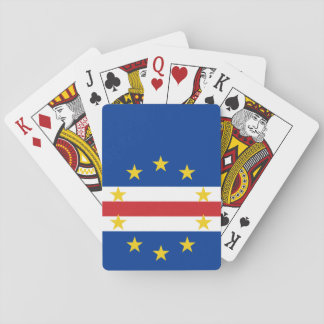 Flag of Cape Verde Playing Cards