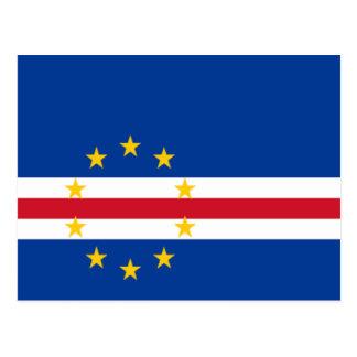 Flag of Cape Verde Postcard