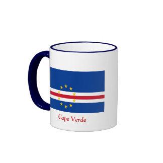 Flag of Cape Verde Ringer Mug
