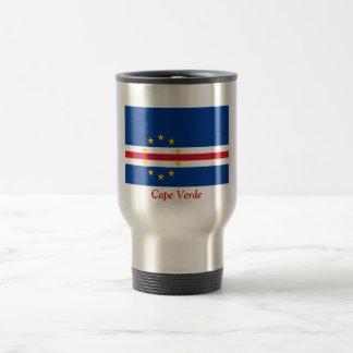 Flag of Cape Verde Stainless Steel Travel Mug