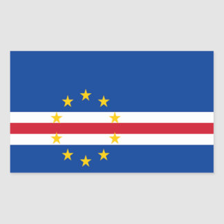 Flag of Cape Verde Rectangle Stickers