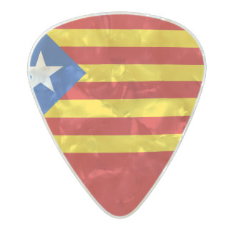 Flag of Catalan Independence Guitar Picks