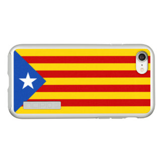 Flag of Catalan Independence Silver iPhone Case