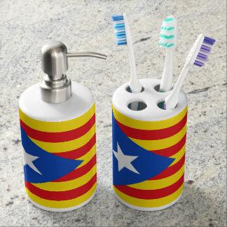 Flag of Catalonia Bathroom Set