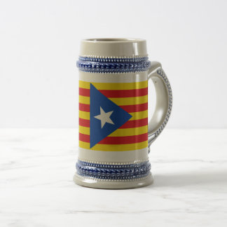 Flag of Catalonia Beer Stein