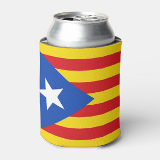 Flag of Catalonia Can Cooler
