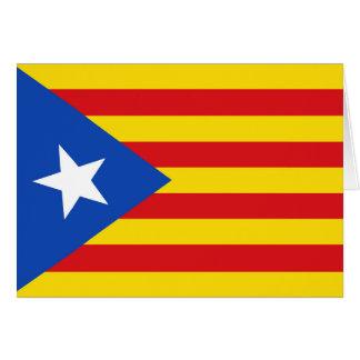 Flag of Catalonia Card