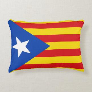Flag of Catalonia Decorative Pillow