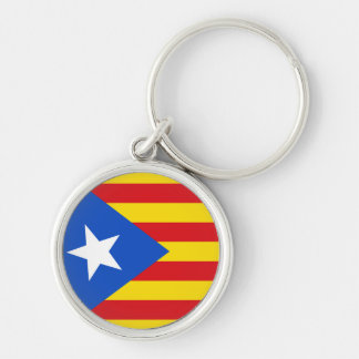 Flag of Catalonia Keychain