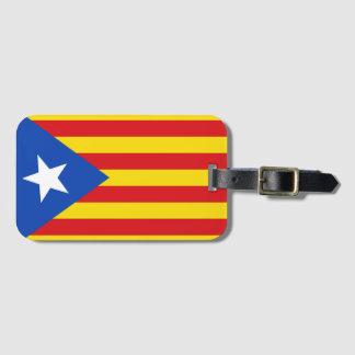 Flag of Catalonia Luggage Tag