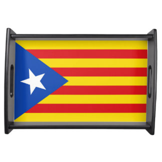 Flag of Catalonia Serving Tray