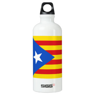 Flag of Catalonia Water Bottle