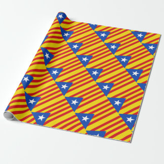 Flag of Catalonia Wrapping Paper