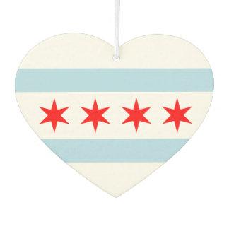 Flag of Chicago Air Freshener