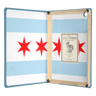 Flag of Chicago Cover For iPad Air