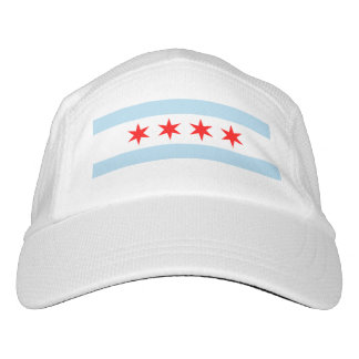 Flag of Chicago, Illinois Hat