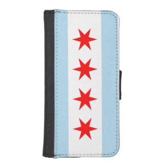 Flag of Chicago iPhone SE/5/5s Wallet Case