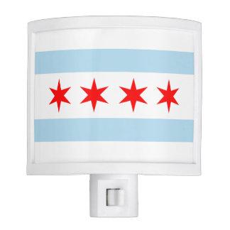 Flag of Chicago Nite Lites