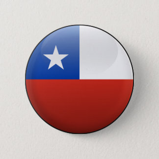 Flag of Chile 2 Inch Round Button