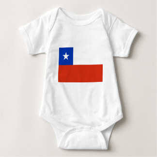 Flag of Chile Baby Bodysuit