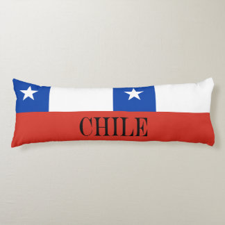 Flag of Chile Body Pillow