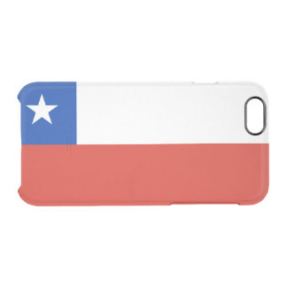 Flag of Chile Clear iPhone Case