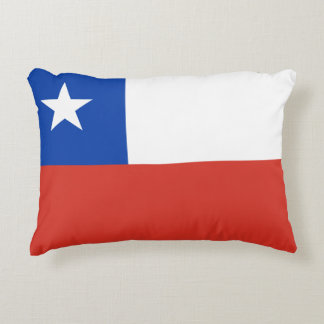 Flag of Chile Decorative Pillow
