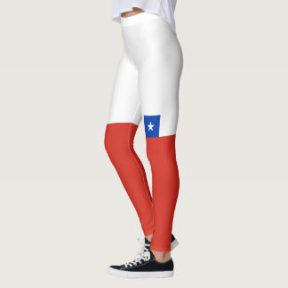 Flag of Chile Leggings