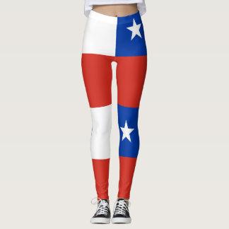 Flag of Chile Leggings