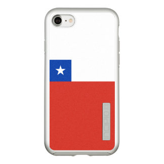 Flag of Chile Silver iPhone Case