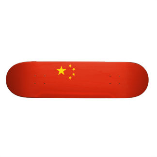 Flag of China Skateboard Deck