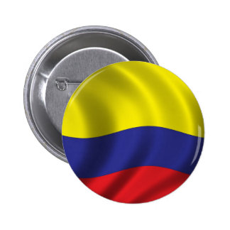 Flag of Colombia 2 Inch Round Button