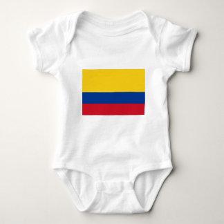 Flag of Colombia - Bandera de Colombia Baby Bodysuit