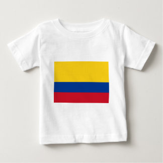 Flag of Colombia - Bandera de Colombia Baby T-Shirt