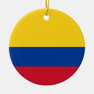 Flag of Colombia - Bandera de Colombia Ceramic Ornament