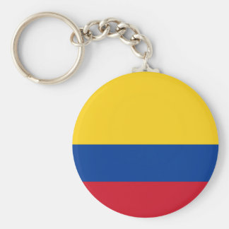 Flag of Colombia - Bandera de Colombia Keychain
