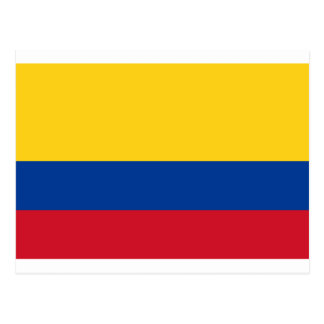 Flag of Colombia - Bandera de Colombia Postcard
