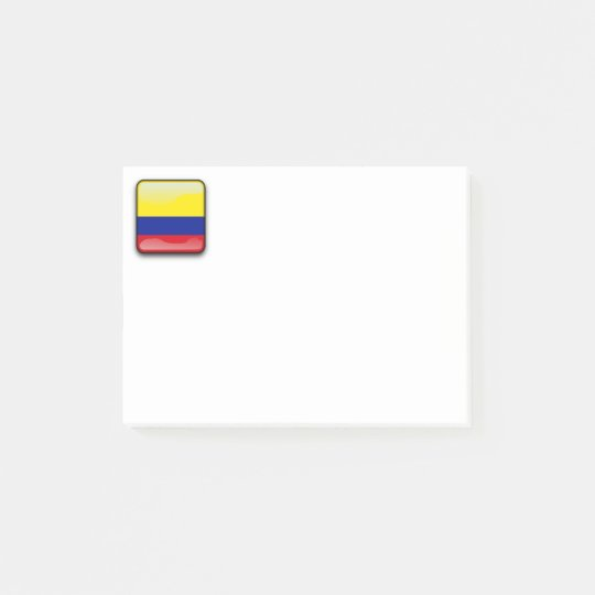 Flag of Colombia Post-it Notes