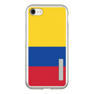 Flag of Colombia Silver iPhone Case